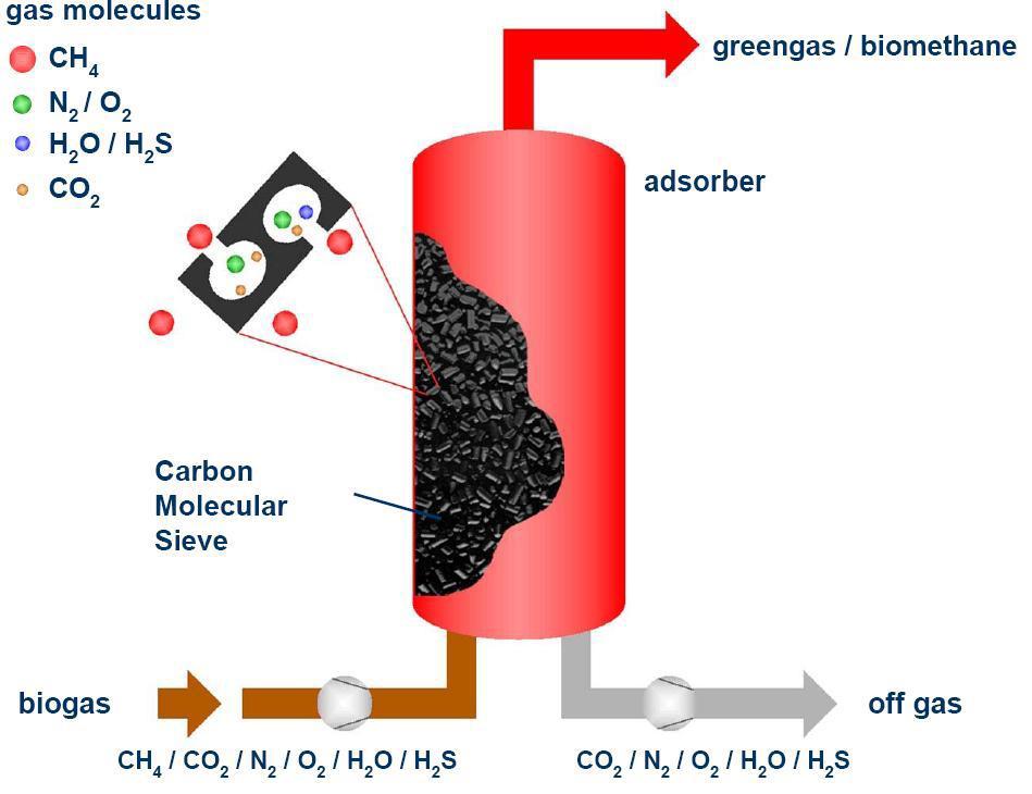 Carbon Dioxide Removal Systems : Biogas enrichment using psa technique cleantech solutions