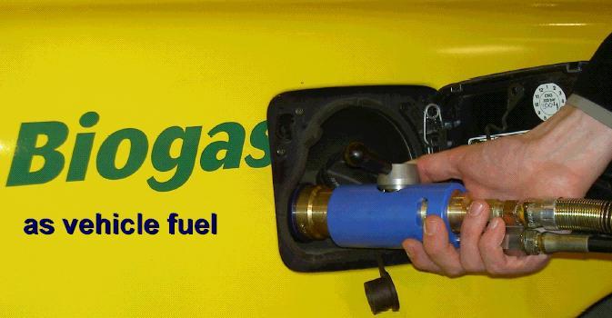 biogas vehicle
