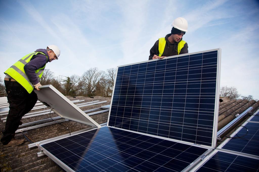 home solar installation