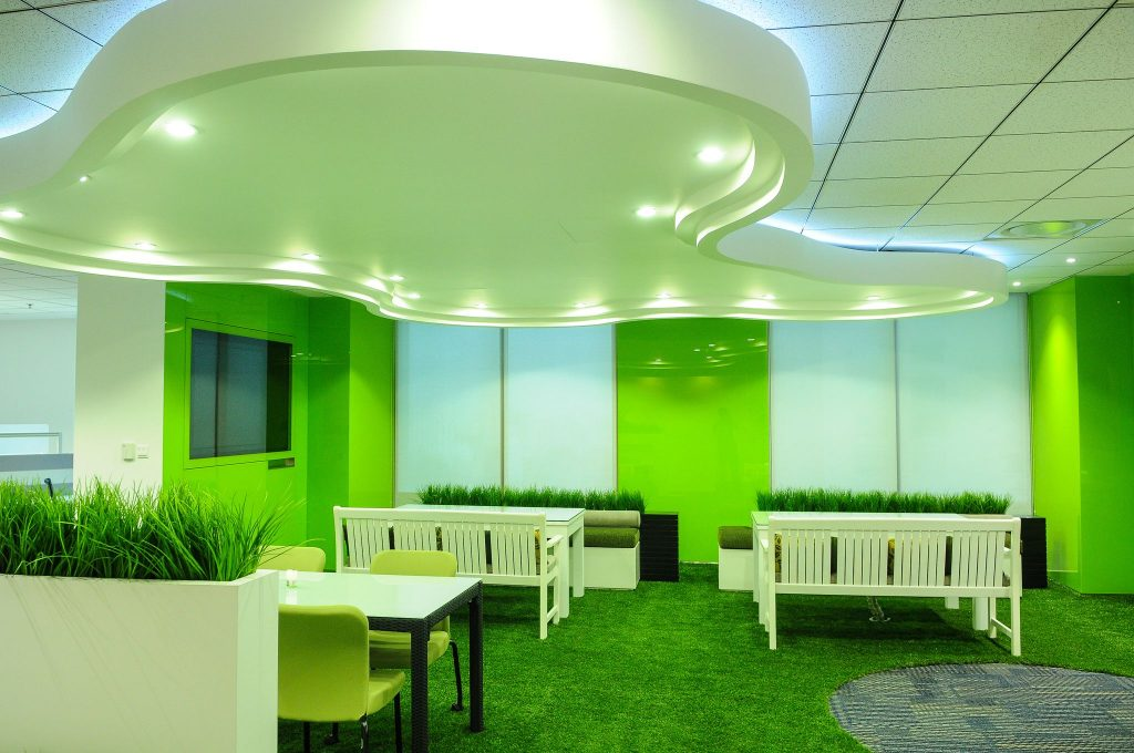 The best way to green your business is to get as much use as you can out of the existing products and appliances.