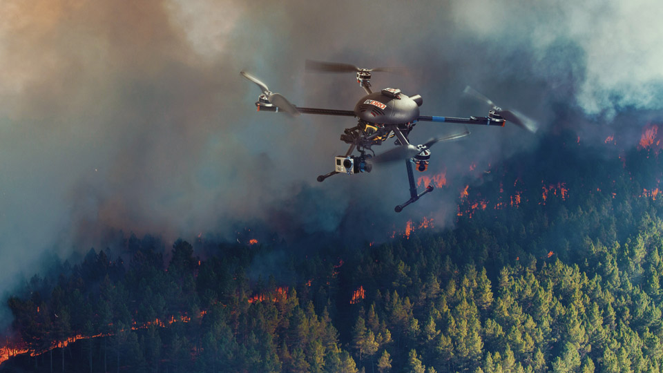 Drones Could Be The Answer To Containing Forest Fires