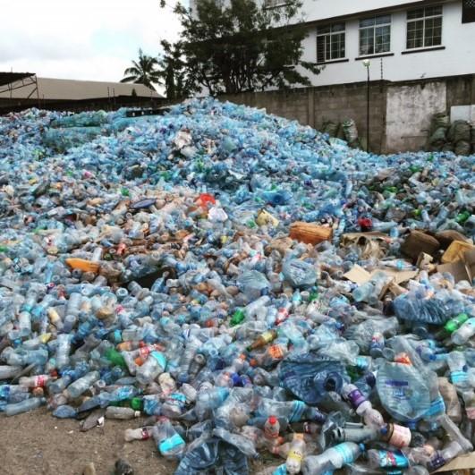 plastic waste in africa
