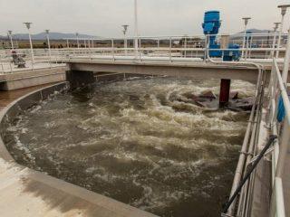 sewage treatment plant biogas
