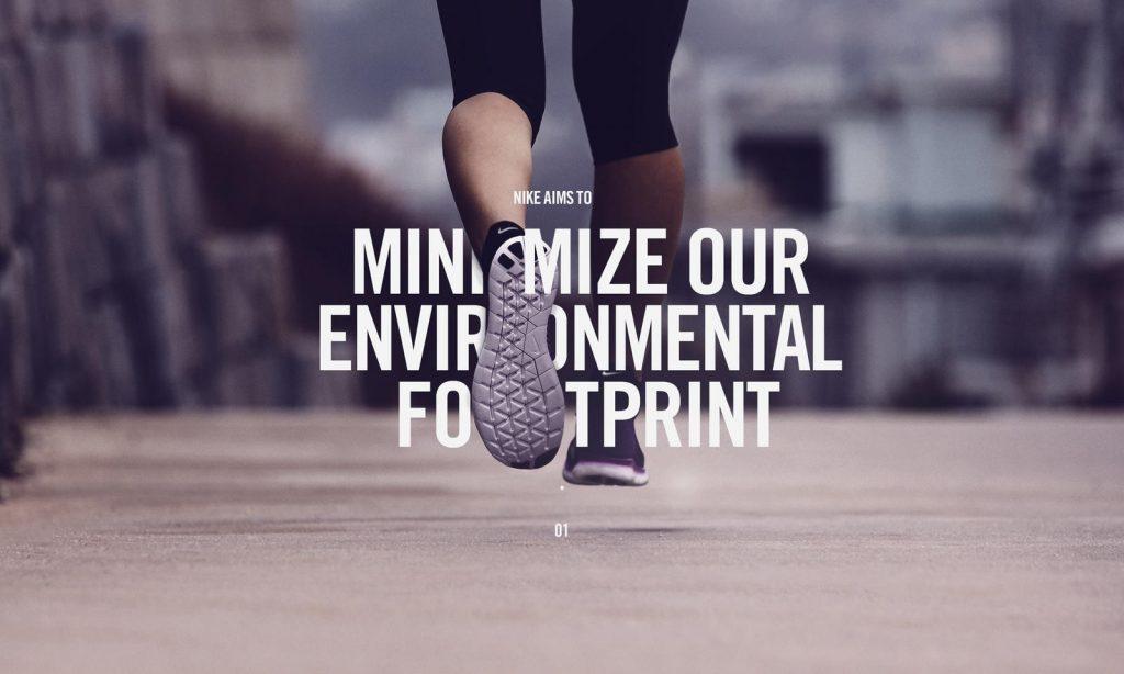 nike environmental footprint