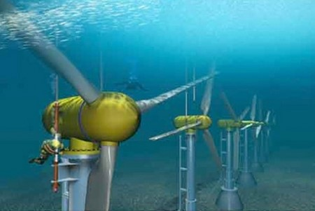 urderwater turbine
