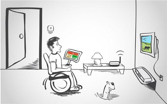 smart home techologies disabled persons