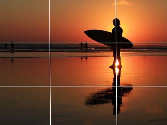 gridlines pictures smartphone