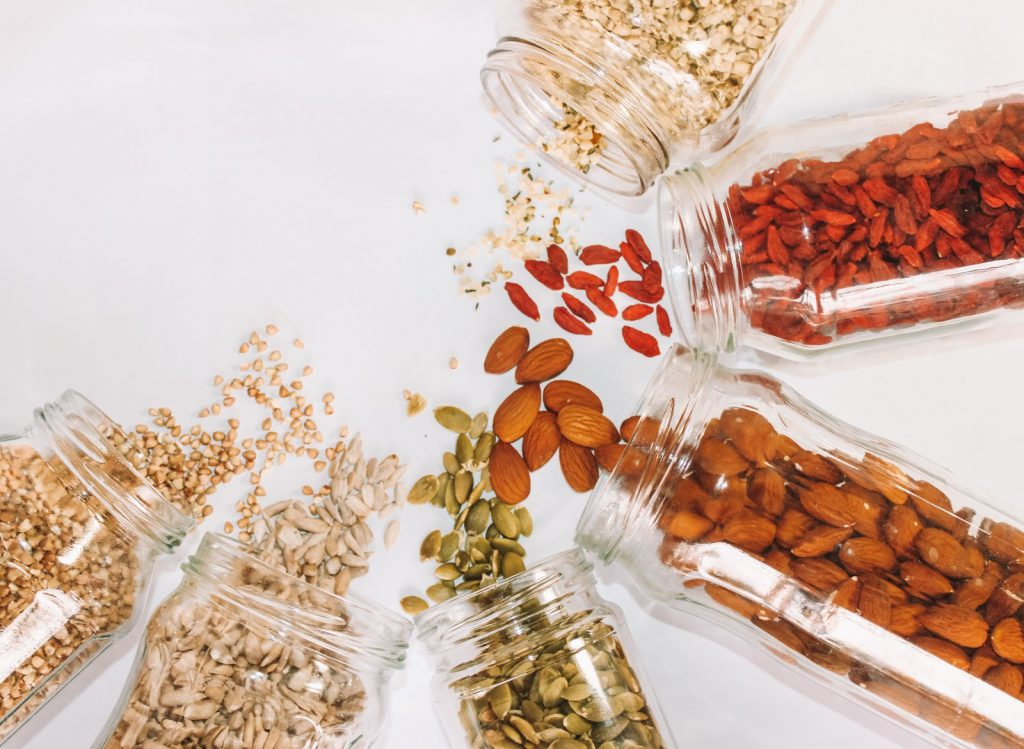 composition of raw vegan diet
