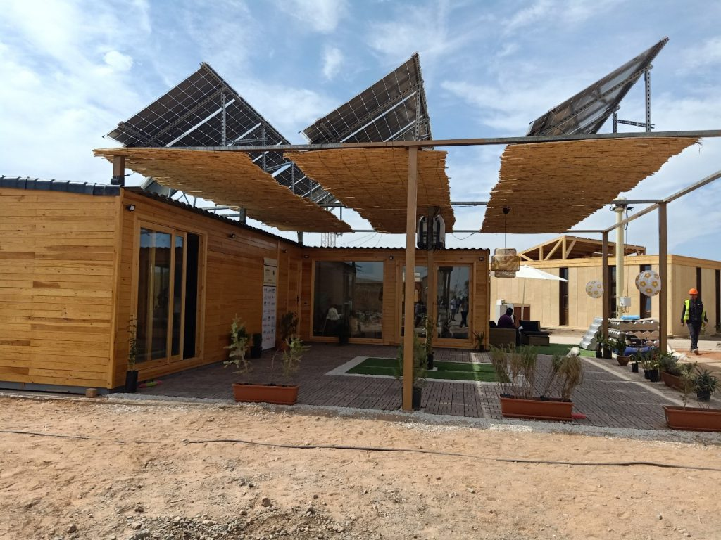 solar powered home africa