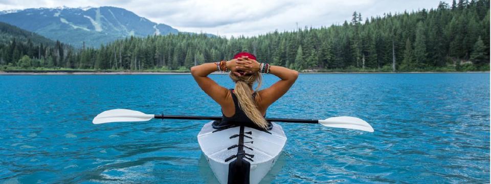 Eco friendly Kayaking