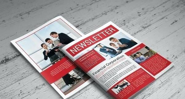 newspaper templates business newsletter