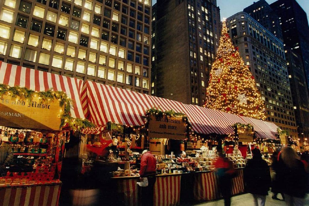 The best Christmas markets in the US