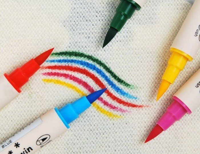 how to use fabric pen