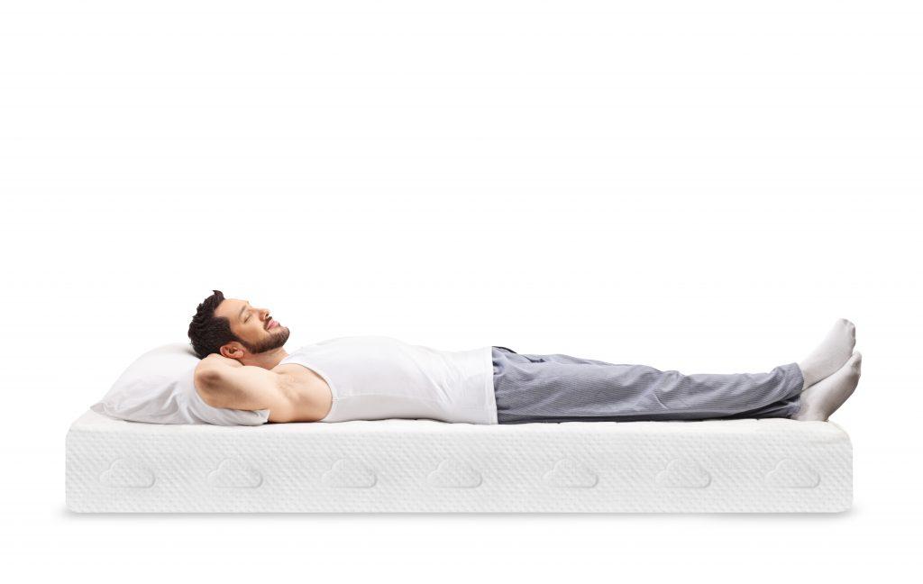 good sleep on good puffy mattress