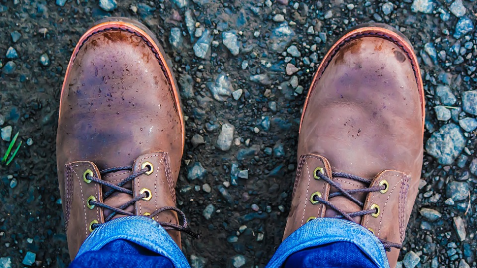 waterproof leather work boots