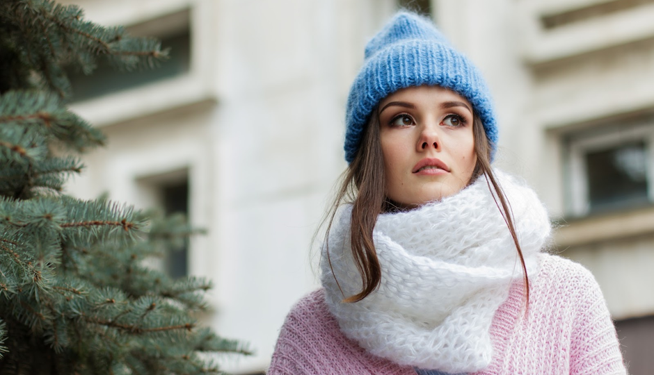 Knitted Scarf Christmas