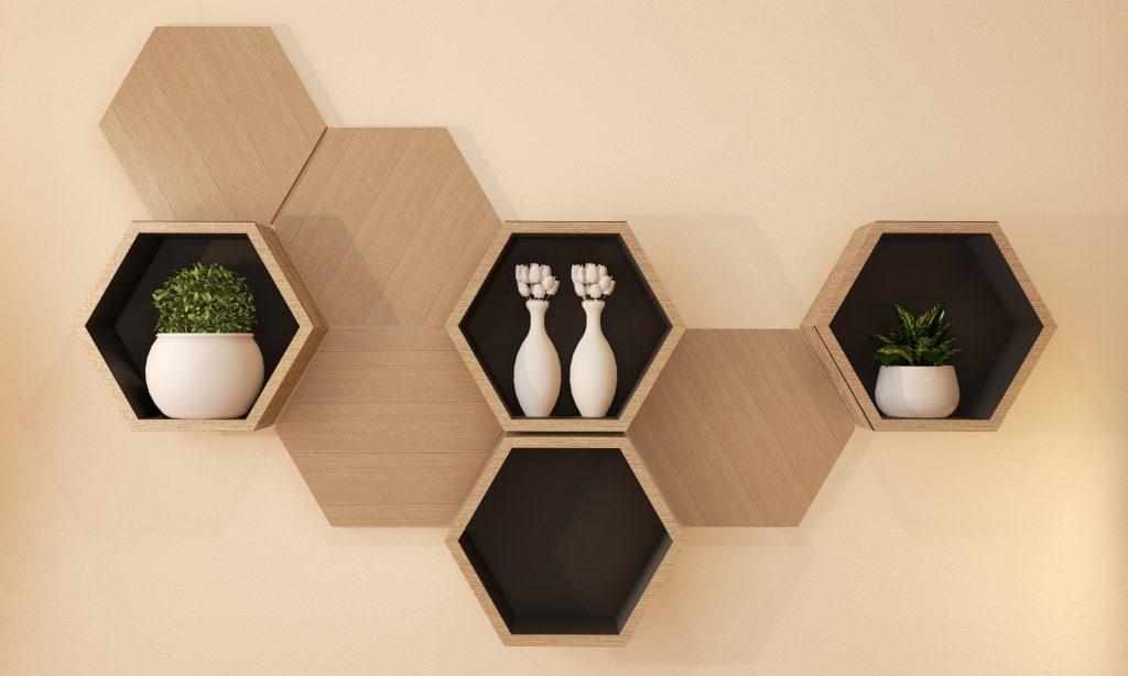 floating shelf storables