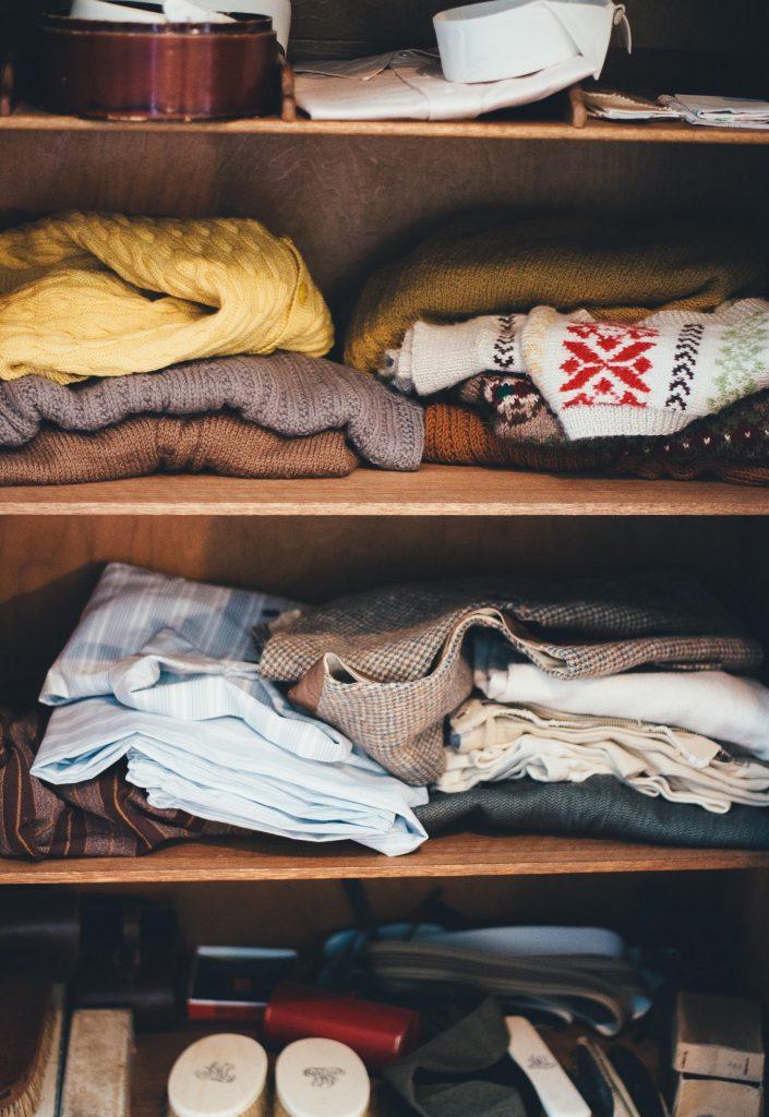 storage space closet