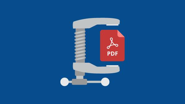 common ways to compress pdf file