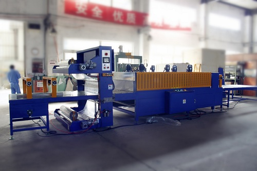 how does a shrink wrap machine work