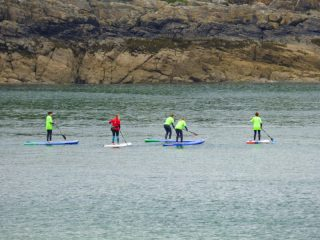 What makes paddle boarding fun